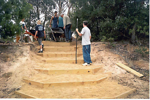 frankston-hands-on-learning-class-installing-steps-at-soccer-pitch-barraclough